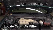 2005 Jaguar X-Type 3.0L V6 Sedan Air Filter (Cabin)