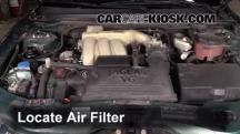 2005 Jaguar X-Type 3.0L V6 Sedan Filtro de aire (motor)