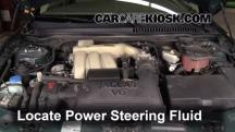 2005 Jaguar X-Type 3.0L V6 Sedan Power Steering Fluid