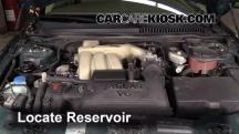 2005 Jaguar X-Type 3.0L V6 Sedan Líquido limpiaparabrisas