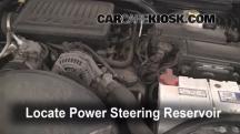 2005 Jeep Grand Cherokee Limited 4.7L V8 Líquido de dirección asistida