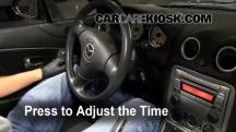 2005 Mazda Miata LS 1.8L 4 Cyl. Clock
