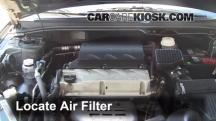 2005 Mitsubishi Galant ES 2.4L 4 Cyl. Air Filter (Engine)