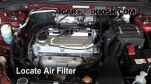 2005 Mitsubishi Lancer ES 2.0L 4 Cyl. Air Filter (Engine)