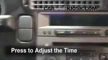 2005 Saab 9-5 Arc 2.3L 4 Cyl. Turbo Sedan Clock