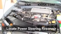 2005 Subaru Impreza WRX 2.0L 4 Cyl. Turbo Sedan Power Steering Fluid