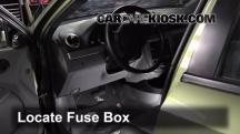 2005 Suzuki Forenza LX 2.0L 4 Cyl. Wagon Fusible (interior)