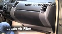 2005 Toyota Prius 1.5L 4 Cyl. Air Filter (Cabin)