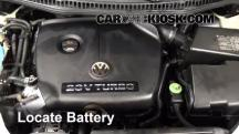 2005 Volkswagen Beetle GLS 1.8L 4 Cyl. Turbo Hatchback Battery