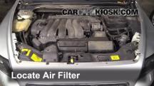 2005 Volvo S40 i 2.4L 5 Cyl. Air Filter (Engine)