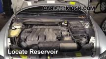2005 Volvo S40 i 2.4L 5 Cyl. Windshield Washer Fluid