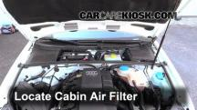 2006 Audi A4 Quattro 2.0L 4 Cyl. Turbo Air Filter (Cabin)