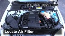 2006 Audi A4 Quattro 2.0L 4 Cyl. Turbo Air Filter (Engine)