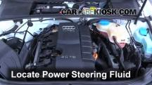 2006 Audi A4 Quattro 2.0L 4 Cyl. Turbo Power Steering Fluid