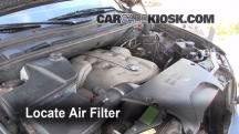 2006 BMW X5 4.4i 4.4L V8 Air Filter (Cabin)