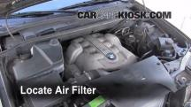 2006 BMW X5 4.4i 4.4L V8 Air Filter (Engine)