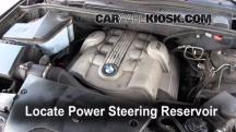 2006 BMW X5 4.4i 4.4L V8 Power Steering Fluid