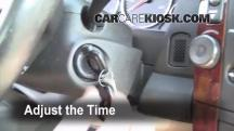 2006 Cadillac CTS 3.6L V6 Clock