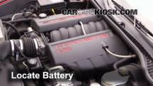 2006 Chevrolet Corvette 6.0L V8 Convertible Battery