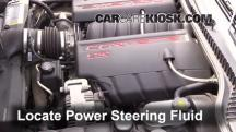 2006 Chevrolet Corvette 6.0L V8 Convertible Power Steering Fluid