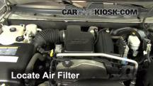 2006 Chevrolet Trailblazer LT 4.2L 6 Cyl. Air Filter (Engine)