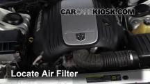 2006 Dodge Magnum RT 5.7L V8 Filtro de aire (motor)
