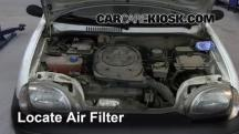 2006 Fiat Seicento 600 Van 1.1L 4 Cyl. Air Filter (Engine)