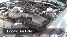 2006 Ford Mustang GT 4.6L V8 Coupe Filtro de aire (motor)