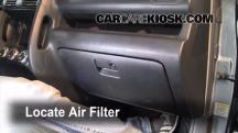 2006 Honda CR-V SE 2.4L 4 Cyl. Filtro de aire (interior)