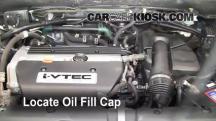 2006 Honda CR-V SE 2.4L 4 Cyl. Oil