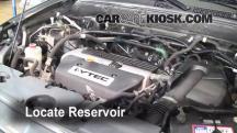 2006 Honda CR-V SE 2.4L 4 Cyl. Windshield Washer Fluid