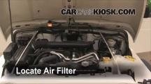 2004 Jeep Wrangler Rubicon 4.0L 6 Cyl. Air Filter (Engine)