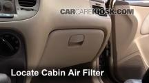2006 Kia Rio 1.6L 4 Cyl. Air Filter (Cabin)