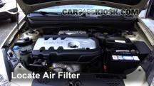 2006 Kia Rio 1.6L 4 Cyl. Air Filter (Engine)