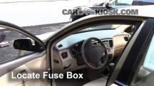 2006 Kia Rio 1.6L 4 Cyl. Fusible (interior)
