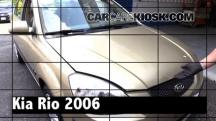2006 Kia Rio 1.6L 4 Cyl. Review