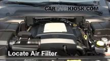2006 Land Rover LR3 SE 4.4L V8 Air Filter (Engine)
