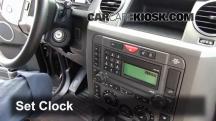 2006 Land Rover LR3 SE 4.4L V8 Clock