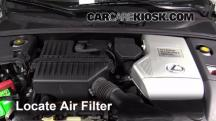 2006 Lexus RX400h 3.3L V6 Air Filter (Engine)