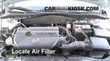 2006 Mazda 6 i 2.3L 4 Cyl. Sedan (4 Door) Filtro de aire (motor)