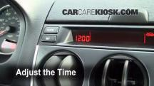 2006 Mazda 6 i 2.3L 4 Cyl. Sedan (4 Door) Clock
