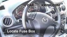 2006 Mazda 6 i 2.3L 4 Cyl. Sedan (4 Door) Fusible (interior)