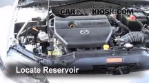 2006 Mazda 6 i 2.3L 4 Cyl. Sedan (4 Door) Líquido limpiaparabrisas