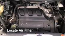 2006 Mazda MPV LX 3.0L V6 Air Filter (Engine)
