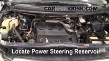 2006 Mazda MPV LX 3.0L V6 Power Steering Fluid