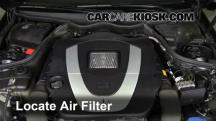 2006 Mercedes-Benz CLK350 3.5L V6 Convertible (2 Door) Filtro de aire (motor)