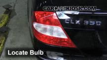2006 Mercedes-Benz CLK350 3.5L V6 Convertible (2 Door) Luces