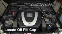 2006 Mercedes-Benz CLK350 3.5L V6 Convertible (2 Door) Aceite