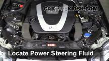 2006 Mercedes-Benz CLK350 3.5L V6 Convertible (2 Door) Líquido de dirección asistida