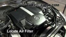 2006 Mercedes-Benz CLS500 5.0L V8 Air Filter (Engine)